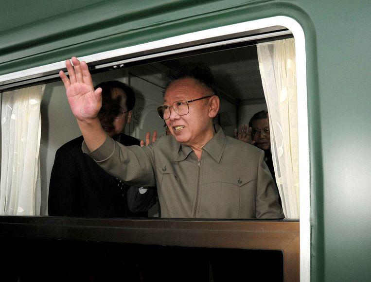 Kim Jong-il in 2010.  Beeld AFP