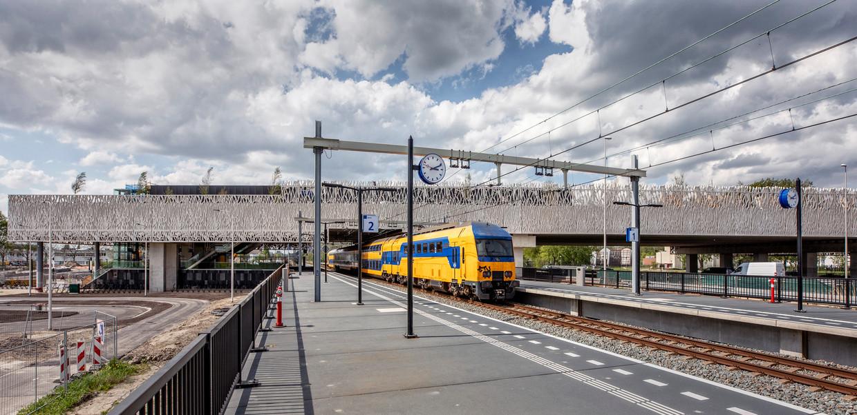 Nieuw station Lansingerland Zoetermeer. Beeld Raymond Rutting