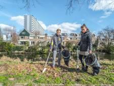 Lotte en Ruben houden hun omgeving schoon: 'Zo gefikst en het is nog lekker weer, ook'