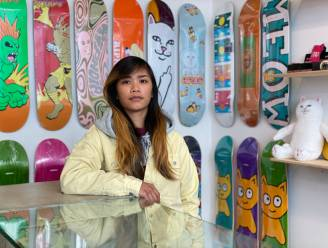"""Eerste skateshop voor vrouwen opent in Gent: """"We horen vaak van meisjes dat skateshops een intimiderende plek zijn"""""""