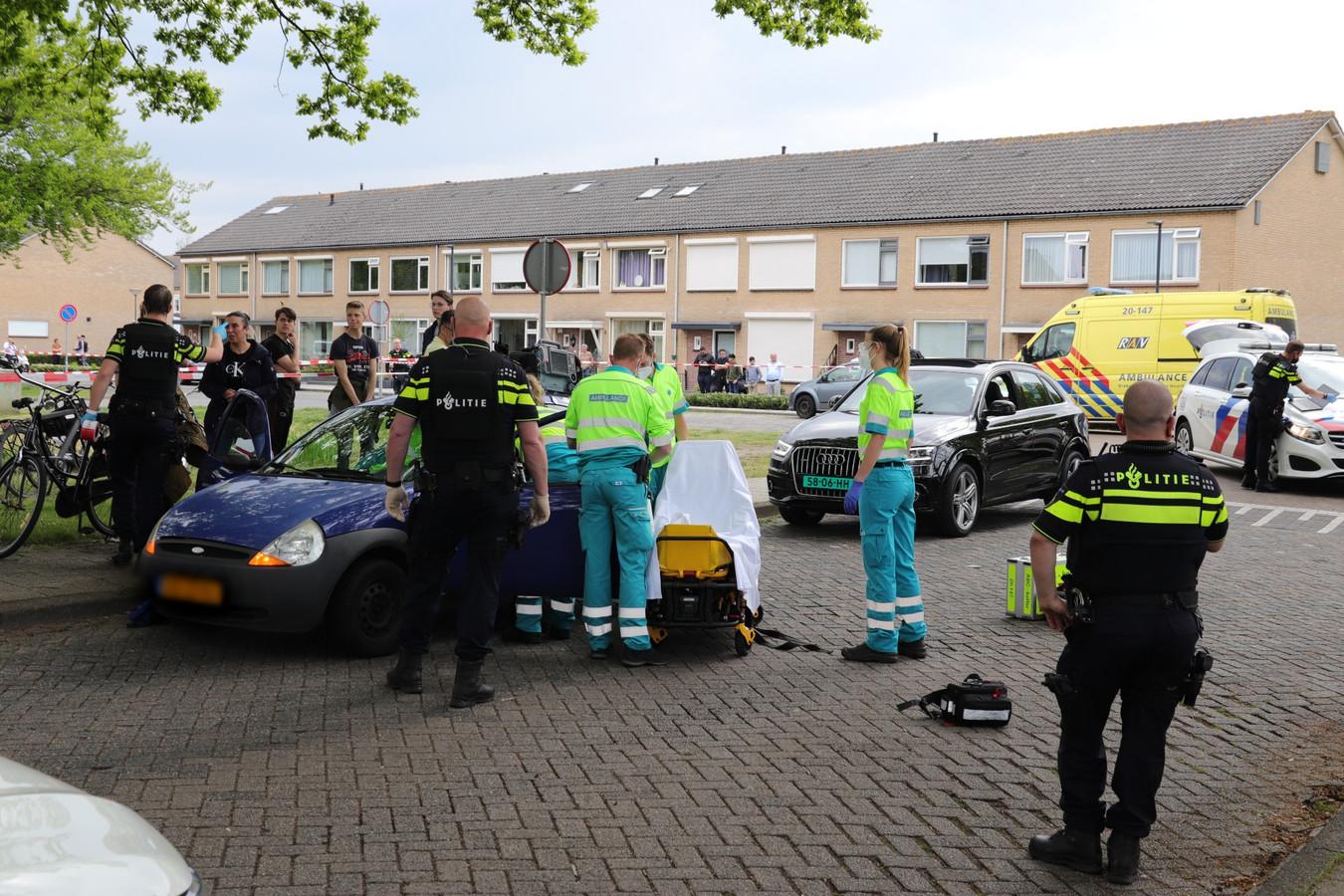 Schietpartij in Waalwijk, een persoon aangehouden.