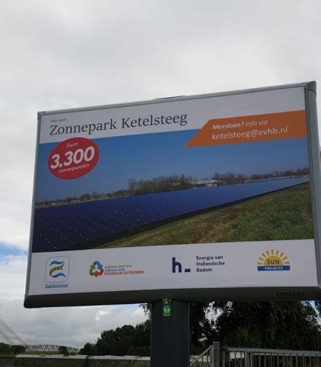 Bouw Zonnepark Ketelsteeg Zaltbommel eindelijk van start