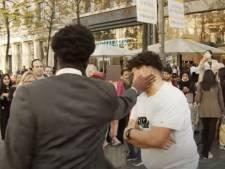 """Un Youtubeur s'inspire de """"Squid Game"""" et défie les passants à Anvers: """"Les gens sont capables de faire beaucoup pour peu d'argent"""""""