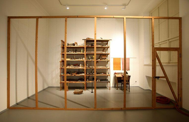Barraque D'Dull Odde 1961-1967 in het Kaiser Wilhelm Museum in Krefeld. Beeld Hollandse Hoogte