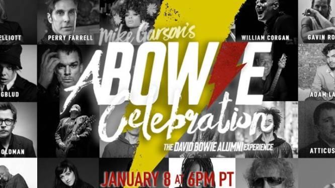 Beroemde artiesten werken op 8 januari samen voor uniek eerbetoon aan David Bowie