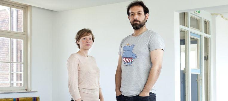 Cecilia Hendrikx en Bengin Dawod Beeld Roy Del Vecchio