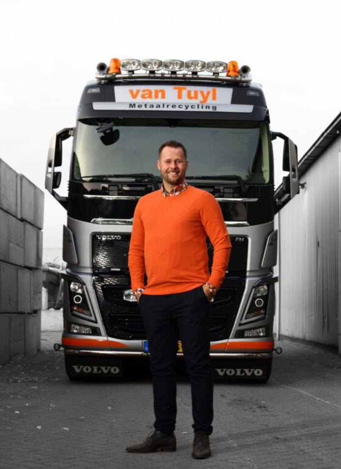 Ferry van Tuyl richtte in 2011 zijn bedrijf Van Tuyl Metaalrecycling op.
