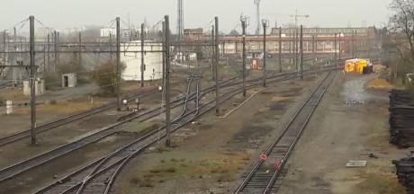 Saneringswerken terrein Infrabel nemen jaar in beslag