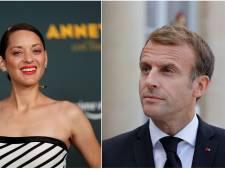 """""""Elle me fait chier"""", Emmanuel Macron très cash au sujet de Marion Cotillard"""
