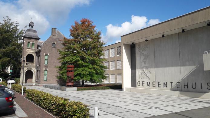 Het gemeentehuis in Bergeijk algemeen