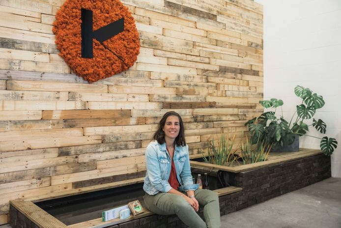 Machteld Lambrichts (31) breidde haar ecologisch zaakje Klinder uit tot een verpakkingsvrije supermarkt, én is intussen genomineerd als 'Belofte van het Jaar'.