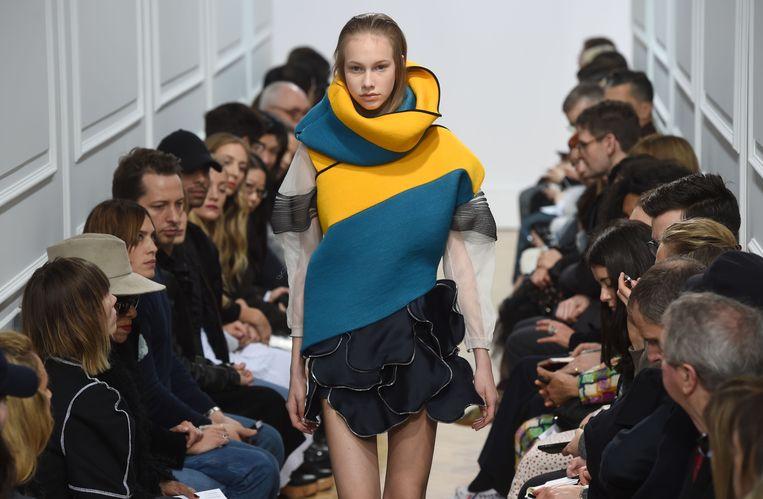De J.W. Anderson-show tijdens London Fashion Week A/W 2016-17.  Beeld Getty Images