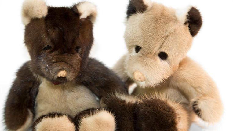 Knuffelberen van Histoire de Bêtes. Beeld rv