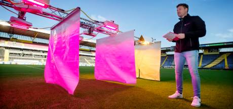 Hoe sterk is het gras in het Rat Verlegh Stadion?
