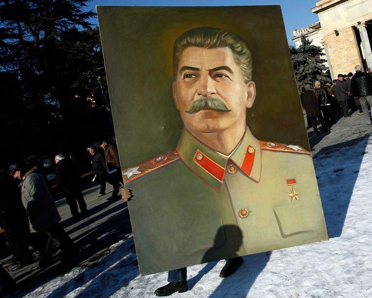Tijdens Jozef Stalins Grote Zuivering stierven honderdduizenden Oekraïners. Beeld REUTERS