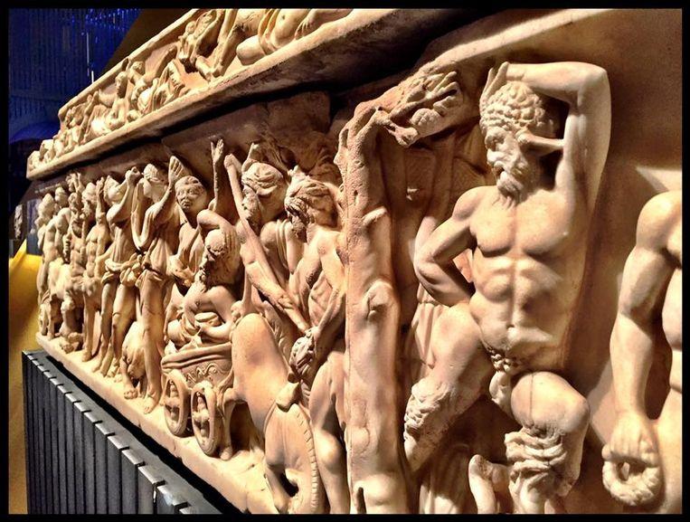 Vanaf drie oktober is de tentoonstelling Rome, de droom van keizer Constantijn in de Nieuwe Kerk te zien. Beeld Facebook