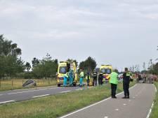 Automobilist zwaargewond door ernstig ongeluk in Varsselder