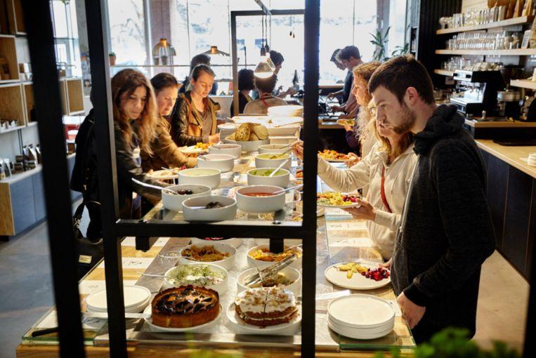 Restaurant Noordoever in Leuven. Beeld rv
