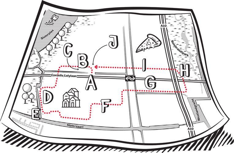 Van Bluebanddorp tot het Rembrandtpark: dit is het Slotervaart van architect Van Eesteren
