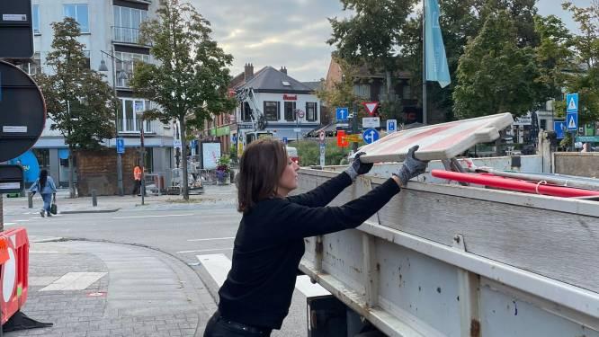 Weg met losliggende stoeptegels en verzakkingen: grote kuis in Hasseltse binnenstad