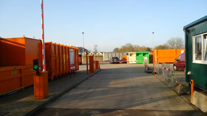 Recyclageparken vanaf zaterdag alleen op afspraak toegankelijk