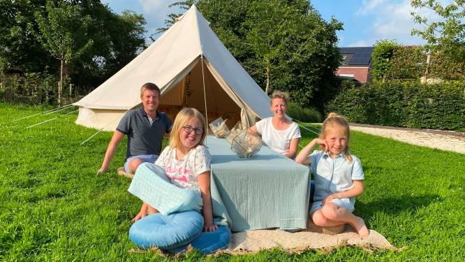 Ideaal voor een alternatieve vakantie of een tuinfeestje: boek eens een 'glamping'-tent