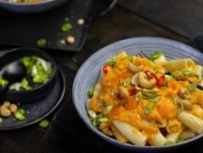 Wat Eten We Vandaag: Rigatoni met wortelsaus