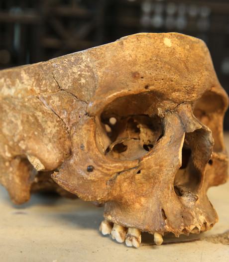 Mysterie rond 'kringloop-schedel' in Twello deels opgelost