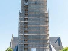 Rentree van Phoenix is het begin van het einde van restauratie Lambertuskerk, steiger verdwijnt deels