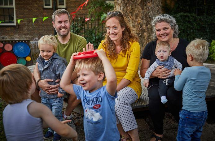 Arjan van Driel, Anne-Martine van Kesteren en Marlies de Jong.