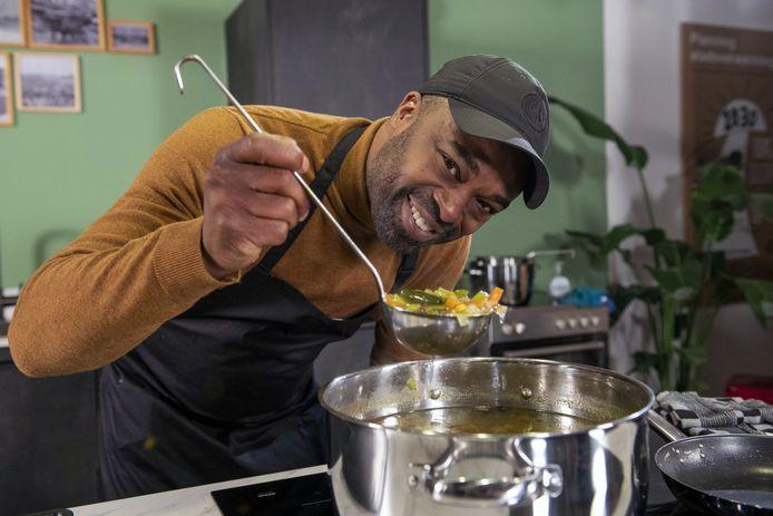 Ramon Beuk maakt graag bouillon.