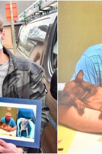 """""""Hij keek zo uit naar zijn eerste kleindochter"""": Kjell (29) verliest vader nadat die zijn hondje wilde redden uit de regenput, maar zelf verdronk"""