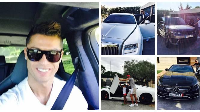 Ronaldo gooit deuren open: aanschouw zijn onbetaalbare wagenpark