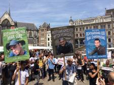 Nederlands protest tegen Amerikaans politiegeweld