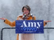 Trump se moque d'une candidate pro climat qui prend la parole sous la neige