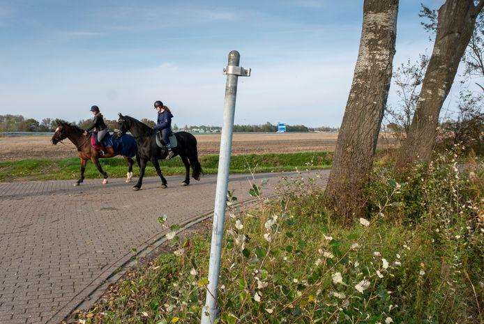 Dat de paarden linksaf de Welzingseweg in kunnen slaan, kunnen de berijdsters niet op een bord zien. Dat ze de Bosschaartsweg bijna inwisselen voor de Landbouwweg staat tien meter verderop nog wel aangegeven.