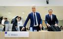 Geert Wilders staat onder meer terecht voor het aanzetten tot haat