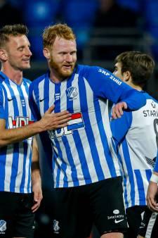 FC Eindhoven neemt voor rust al afstand van zwak FC Dordrecht en wint eenvoudig