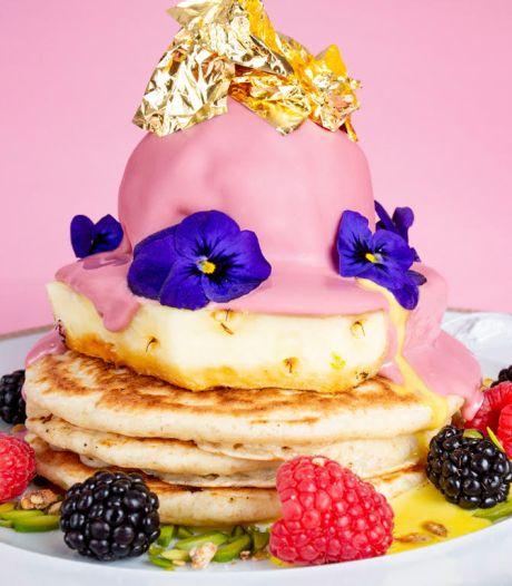 Deze 'duurste' pannenkoek wordt geserveerd met bladgoud en Versace-bestek