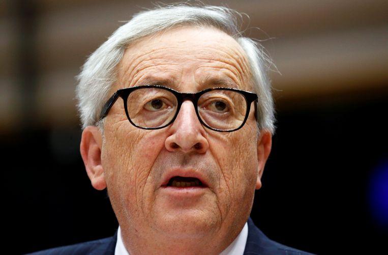 Europees Commissievoorzitter Jean-Claude Juncker. Beeld REUTERS
