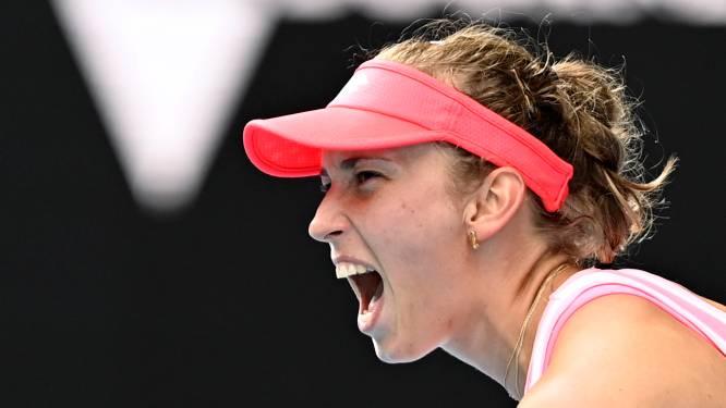 """Elise Mertens zit na masterclass tegen nummer 12 van de wereld in de achtste finales: """"Ik wil meer"""""""