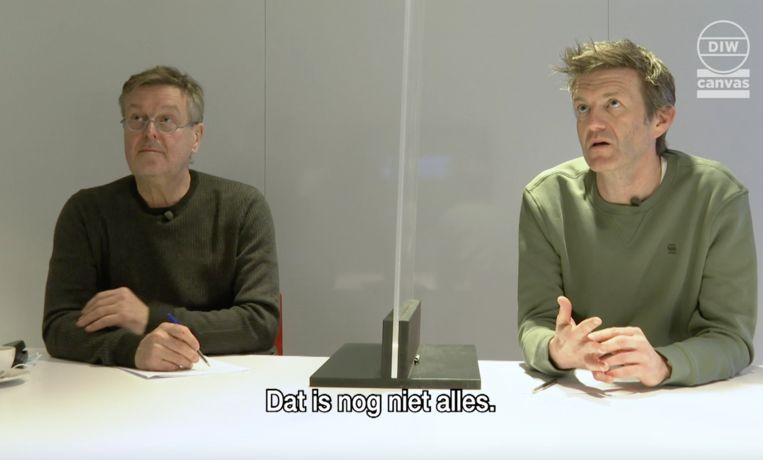 Frank Raes en Filip Joos Beeld De ideale wereld