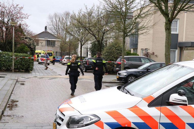 Onderzoek na de schietpartij bij De Grote Wielen in Amstelveen in 2019. Beeld ANP