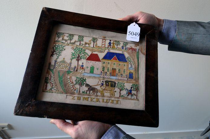 Voor prenten van Jantje de Prentenknipper worden honderden euro's neergeteld. Foto Lex de Meester