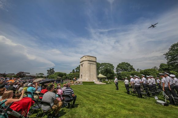 Zomerse taferelen op de 'Memorial Day' in 2018.