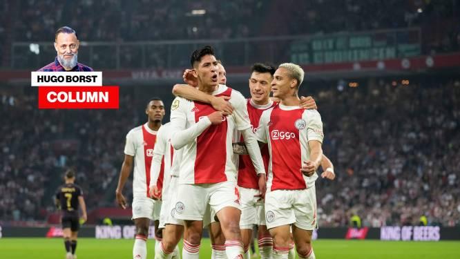 Column Hugo Borst   Begin februari krijgt Ajax na een 17-1 overwinning op Sparta de schaal uitgereikt