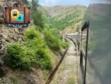 Met zoveel bochten lijkt dit treintraject meer op een achtbaan