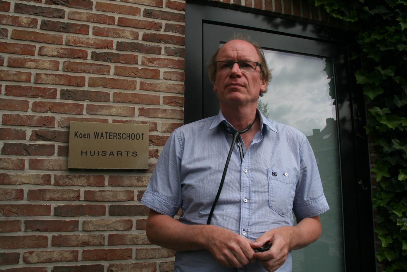 Dokter Koen Waterschoot uit Eeklo.