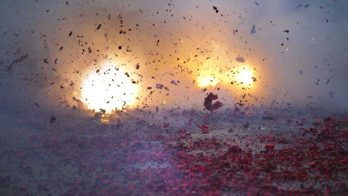 Vuurwerk is een traditie.