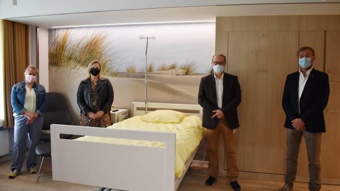 """AZ West richt palliatieve kamer in: """"We kunnen het leed niet wegnemen, maar hopen de opname huiselijker te maken"""""""